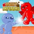 Defender marah