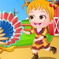 Bayi Hazel Thanksgiving Dressup