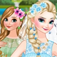 Bride Elsa dan Bridesmaid Anna