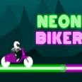 Неоновый байкер