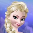 Fryst Elsa makeup