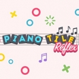 بيانو بلاط منعكس